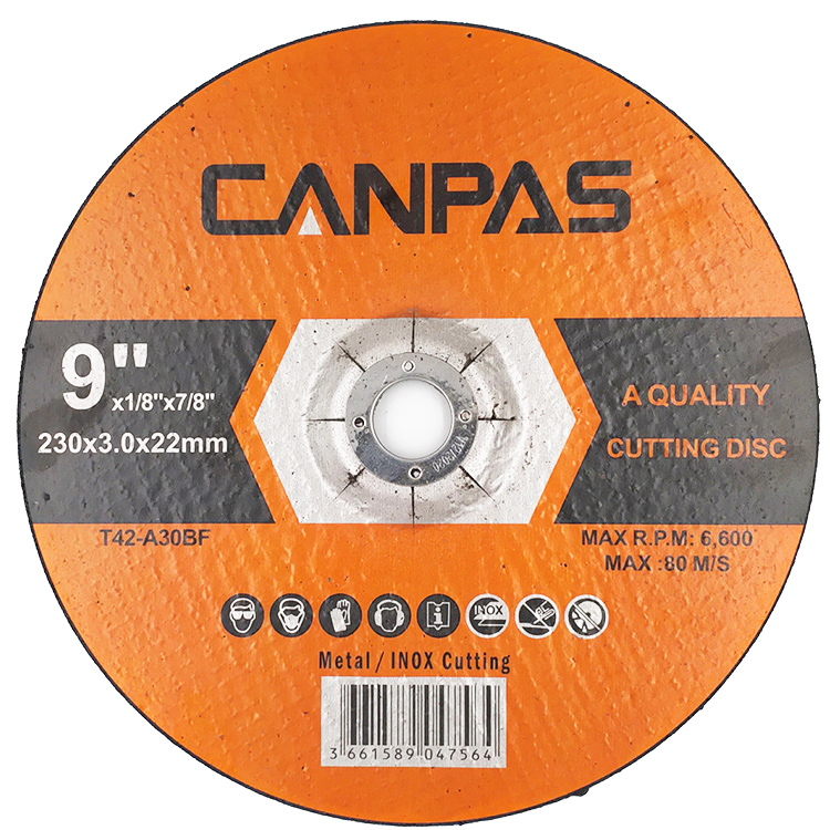 CANPAS 9 inch 230x3x22mm 3 m 연마 컷 \ % off 바퀴 컷 \ % off 바퀴 diamond cutting disc
