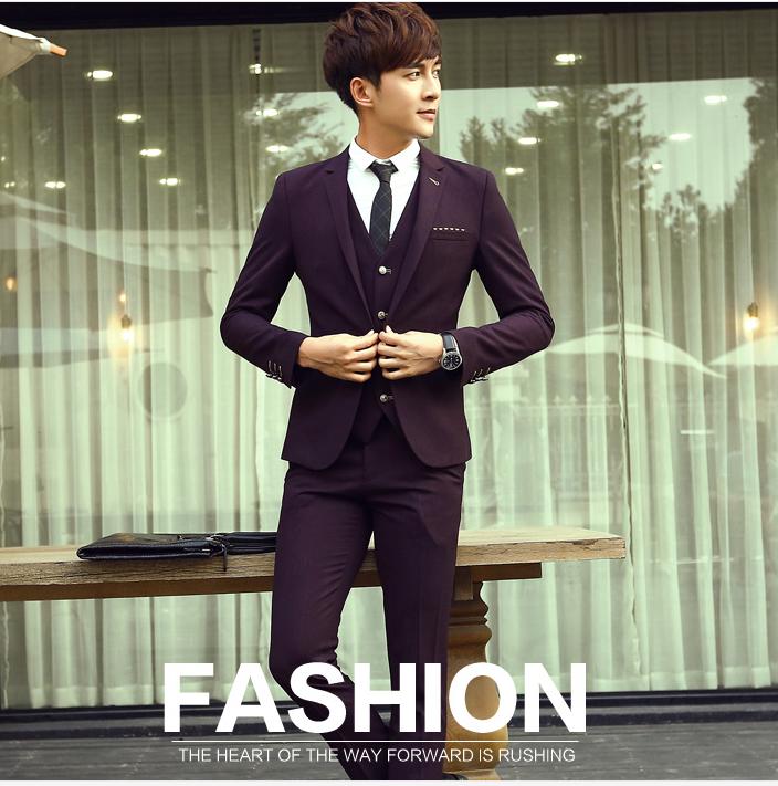 Latest 100% cotton 4 pieces slim fit wedding tuexdo casual coat ...
