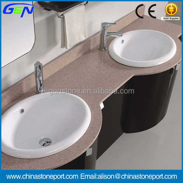 High Quality Pink Granite Vanity Top & Countertop For Indoor