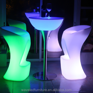 Captivating led chairs and tables for events ktv led furniture outdoor