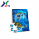wholesale Custom die-cut Printable 3D lenticular puzzle Paper Cardboard Jigsaw Puzzle Wholesale