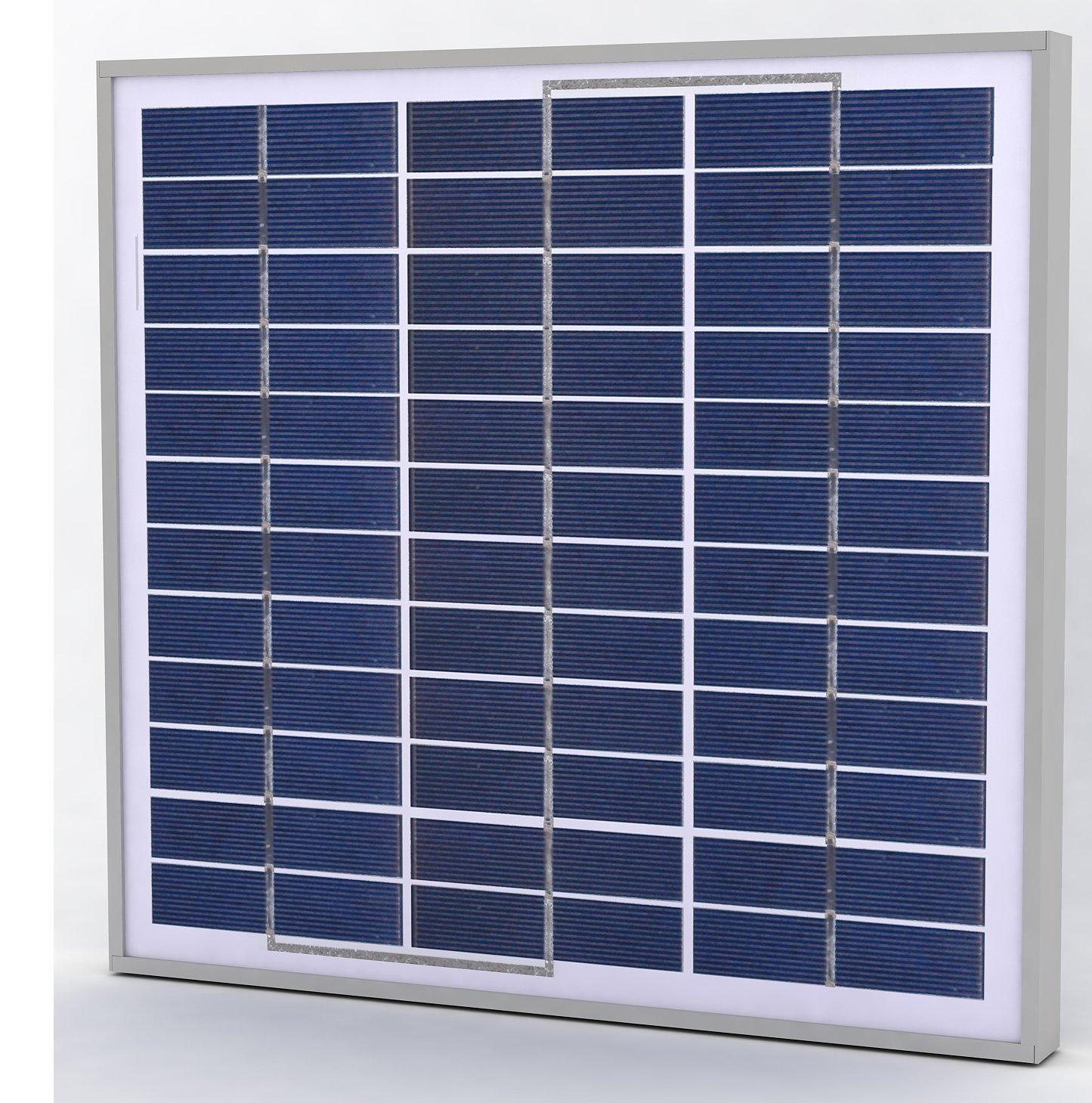 Polycrystalline Solar Panels 30W 12V