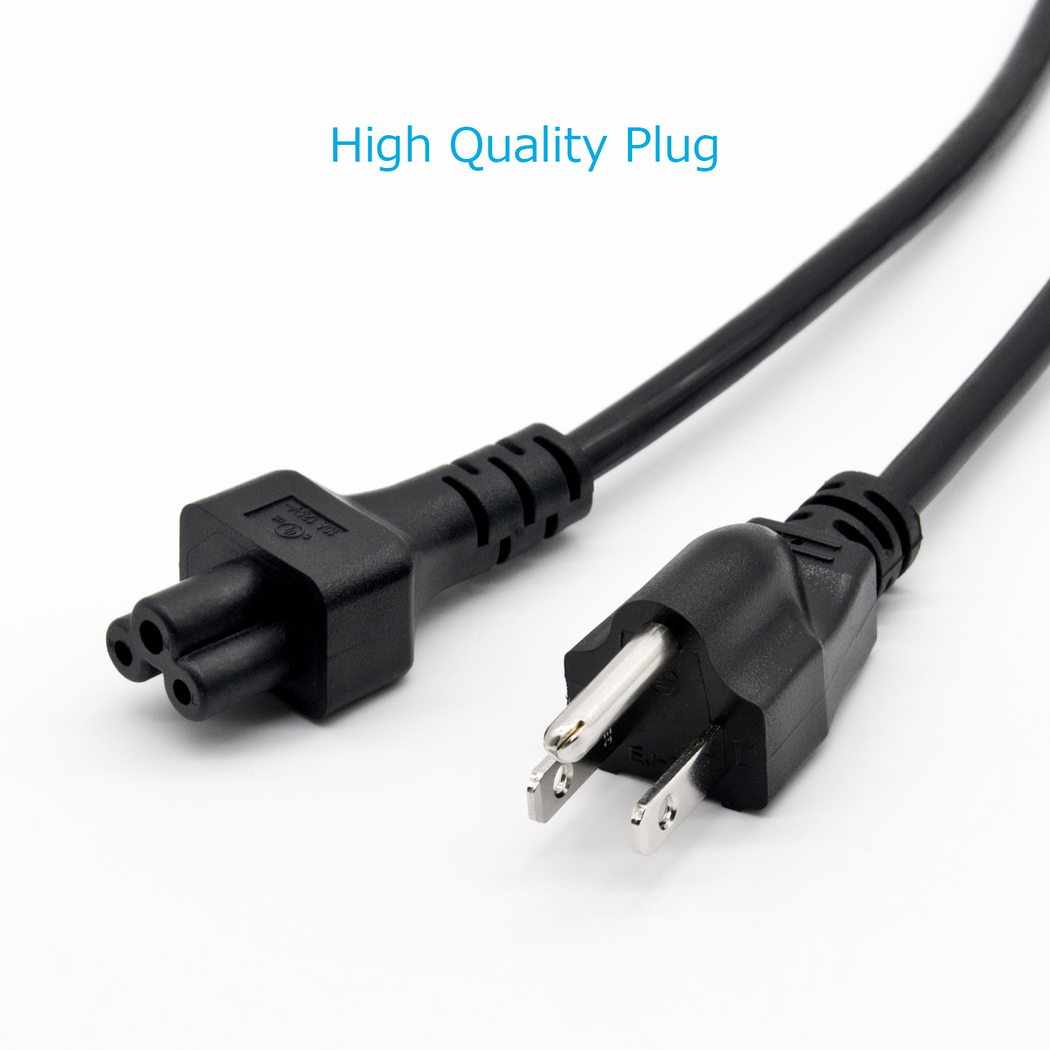 3 Prong AC Power Kabel, UNS Zertifiziert 3 meter Kurzen Power Kabel für Dell laptops power adapter