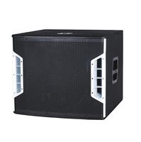 professional subwoofer 1200w for dj music with 2 channel high power amplifier module