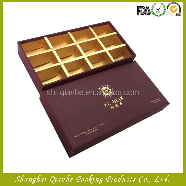 Hot-selling cookie packaging box luxury gift box packaging