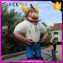 5m giant inflatable cow for outdoor decoration inflatable bull for sale