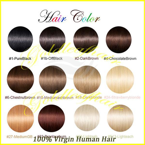 Color Chart 613 Blonde Hair Bundles Virgin Brazilian Straight With