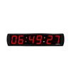 LED countdown large 4 inch 6 digital customized wall mounted led timer digital clock