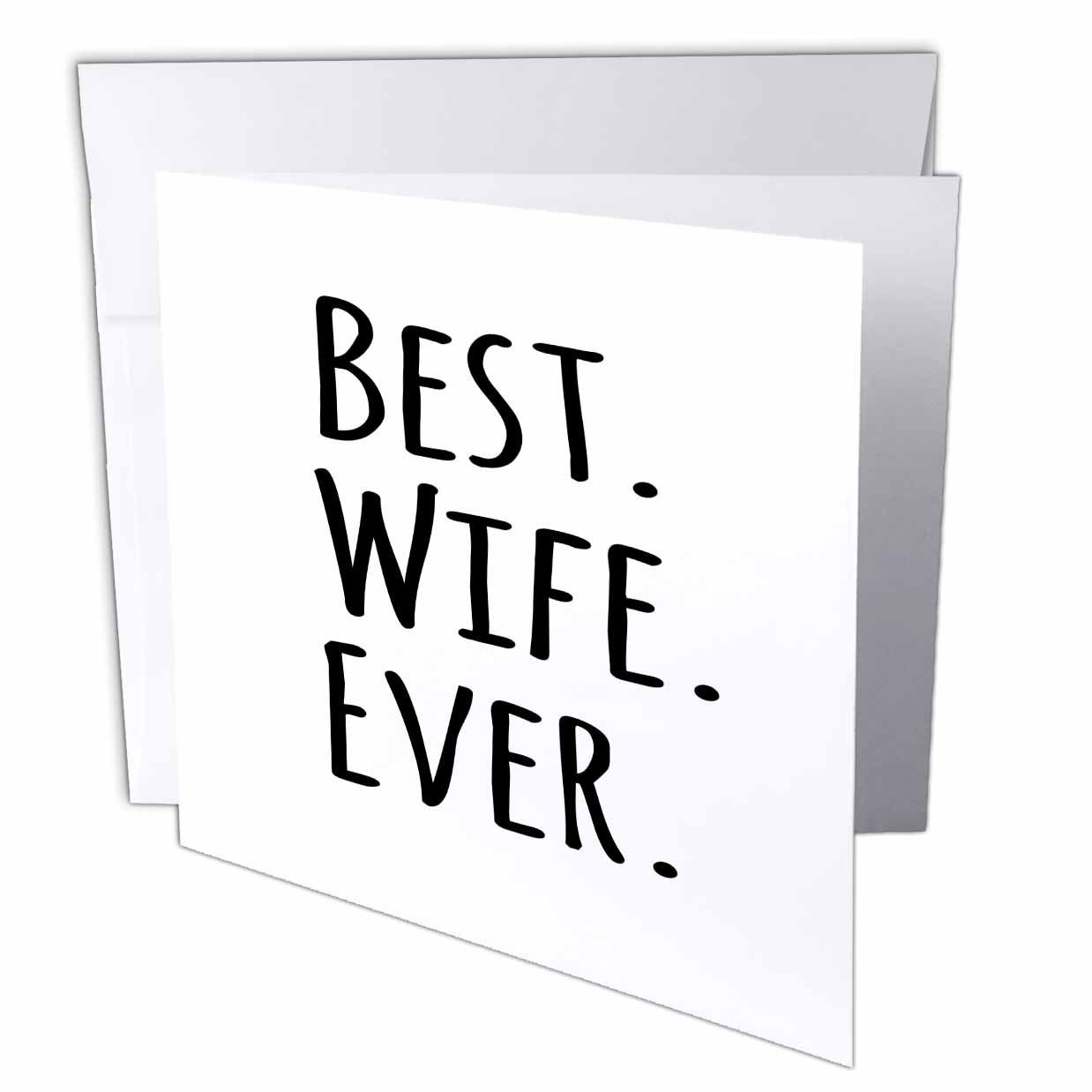 Cheap free anniversary cards for wife find free anniversary cards get quotations inspirationzstore typography best wife ever fun romantic married wedded love gifts for her for kristyandbryce Choice Image