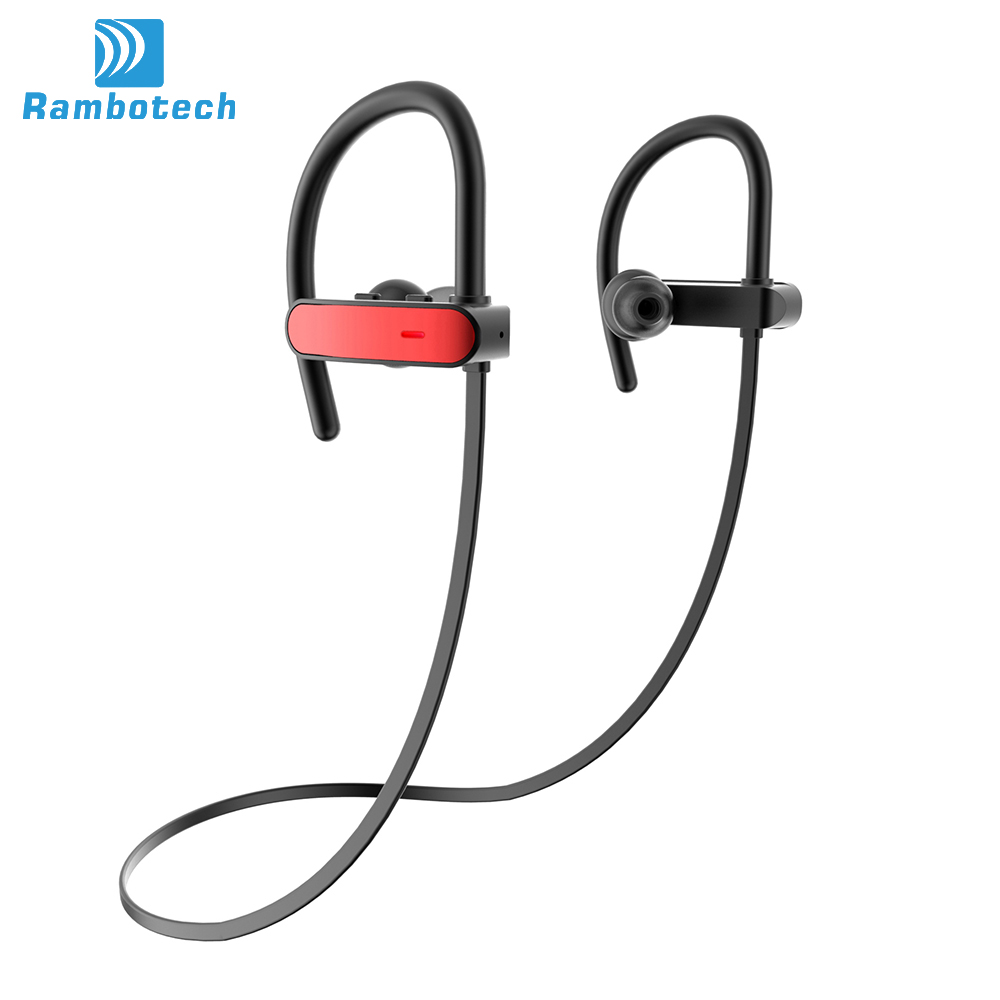 Amazon Best Seller Supplier IPX7 Waterproof Bluetooth Headphone 4.1 Wireless Mobile Phone Handfree Stereo Bluetooth Headset RU10