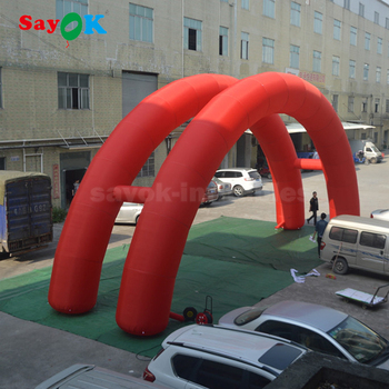 inflatable gate rainbow arch / inflatable finish line arch Christmas decoration