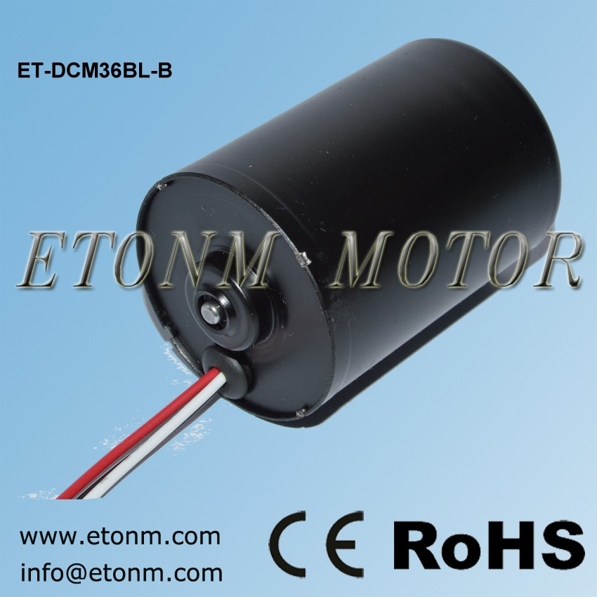 12mm brushless 12 v dc motor 5400 rpm box fan motor