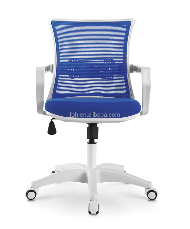Blue And White Office: Blue And White Cost Competitive Modern Office Mesh Task
