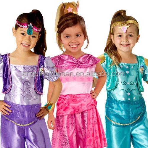 Shimmer and Shine Dress I Kids Shimmer /& Shine Dress I Shimmer Shine Dress