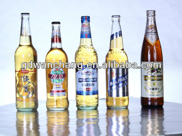 many kinds of adhesive beer labels