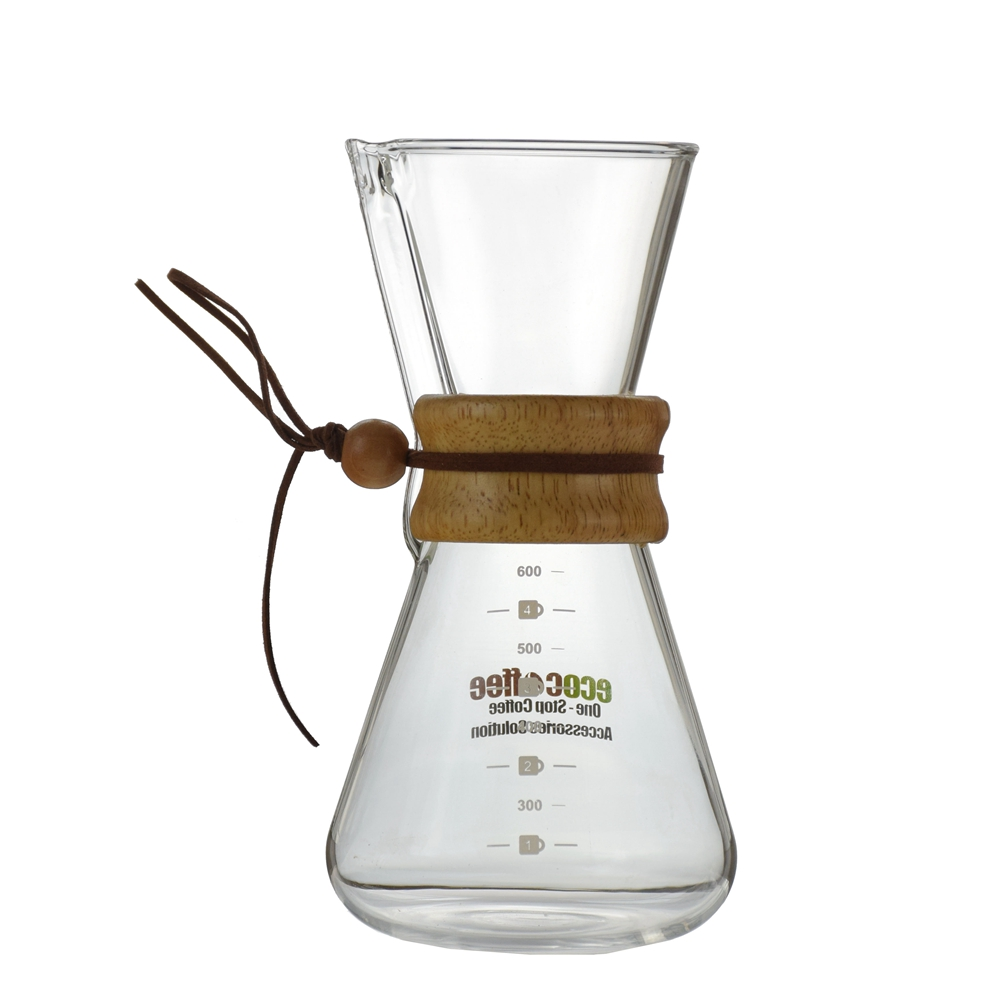 Ecocoffee Heat Proof Glass Coffee Kettle Machine Pour Over Drip Pot V0 Barista Coffee Maker Pot Coffee Percolator фото
