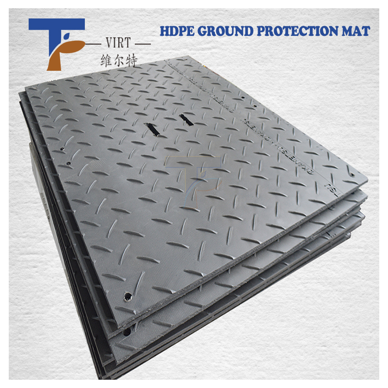 hdpe ground cover mat with heavy loading capacity from VIRT <strong>plastic</strong>