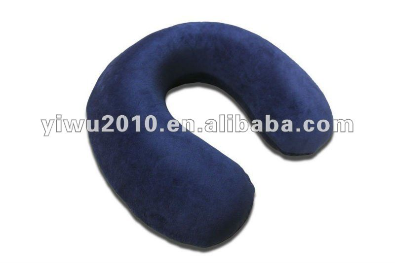 Neck support for the Airplane Travel Pillow for travel promotion