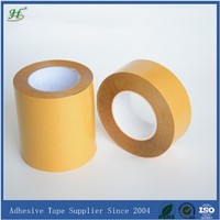 High temperature resistant good durability good adhesion for smooth surface double sided polyester PET tape