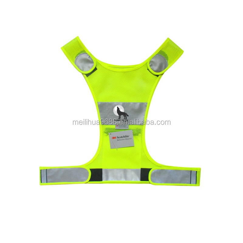 Europe Market 3M Reflective Women FUN RUN Safety Vest