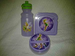 """""""Tinkerbell-Fairies""""..!!!3-pc Lunch Set(1-sandiwch Box, 1 Snack Cointainer,1-jug or Bottle Water)..!!!"""