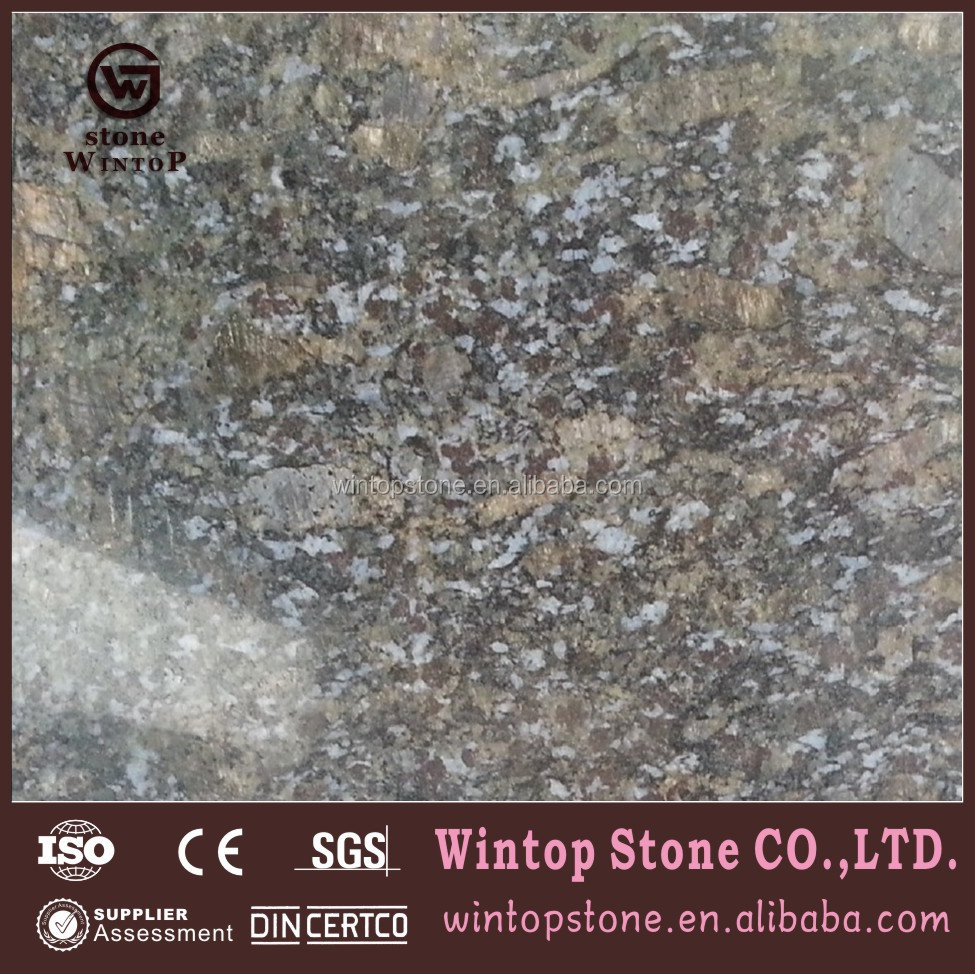 Blue Pearl Granite Countertop for Hotel Vanity and Kitchenette Furniture