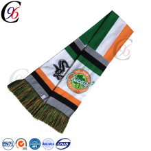 Chengxing custom wholesale hot selling kintted pattern world cup national team promotional sport soccer football scarf