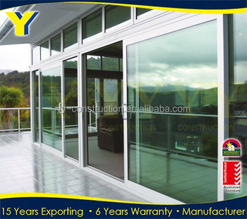Aluminium Door And Window /48 Inches Sliding Glass Doors Sale /used  Commercial Glass Entry