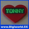 LED name badge programmable scrolling led name tag