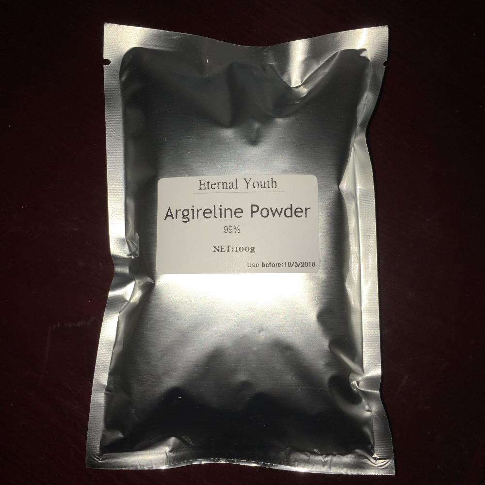 99 Argireline Areginine Powder High quality Cosmetic Ingredient Acetyl Hexapeptide 8 Anti Aging Ageless Skin