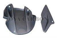 Carbon Fiber Aprilia Silver Mesh body part