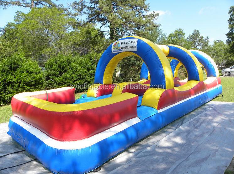 Inflatable Water Slide Wth Pool