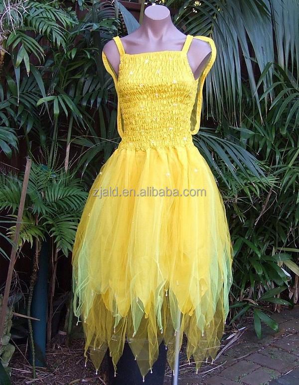 Adult Womens Tinkerbell Costume Fancy Dress Adut Fairy - Buy Fancy ...