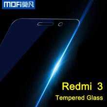 XIAOMI REDMI 3 glass 5 inch mofi original redmi3 tempered glass HD 9H curve glass for redmi 3 0.26 MM
