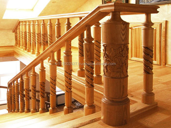 Wooden Stair Railing Buy Wooden Railing Stair Railing Product On Alibaba Com
