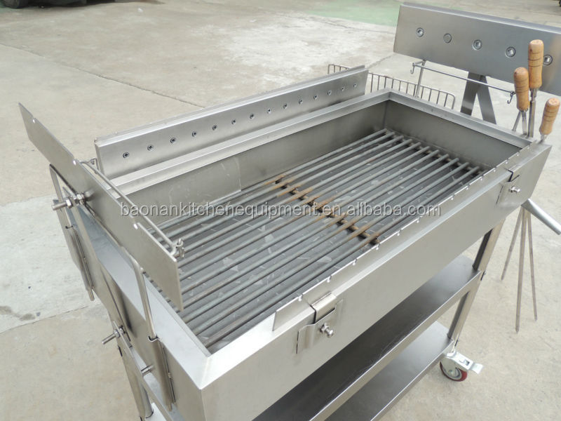 Cosbao hot sale charcoal grill restaurant bbq