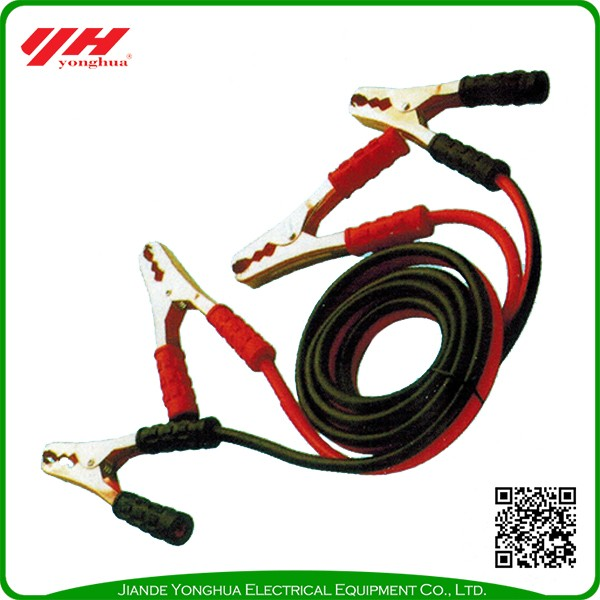Durable using customized booster cables 500 amp