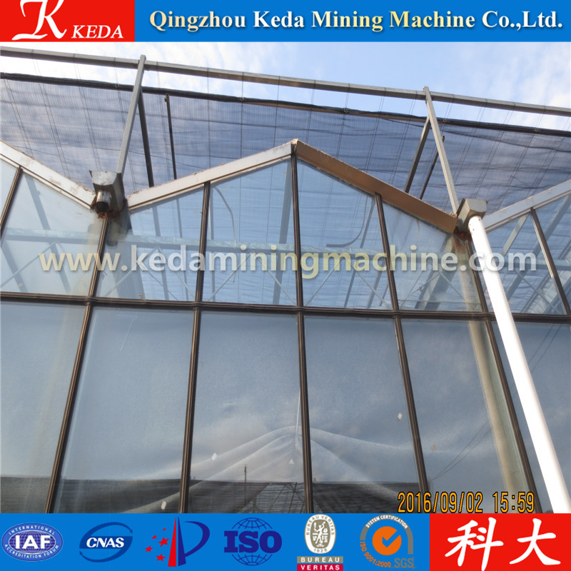 Greenhouse with Pre galvanized Round carbon steel Pipe