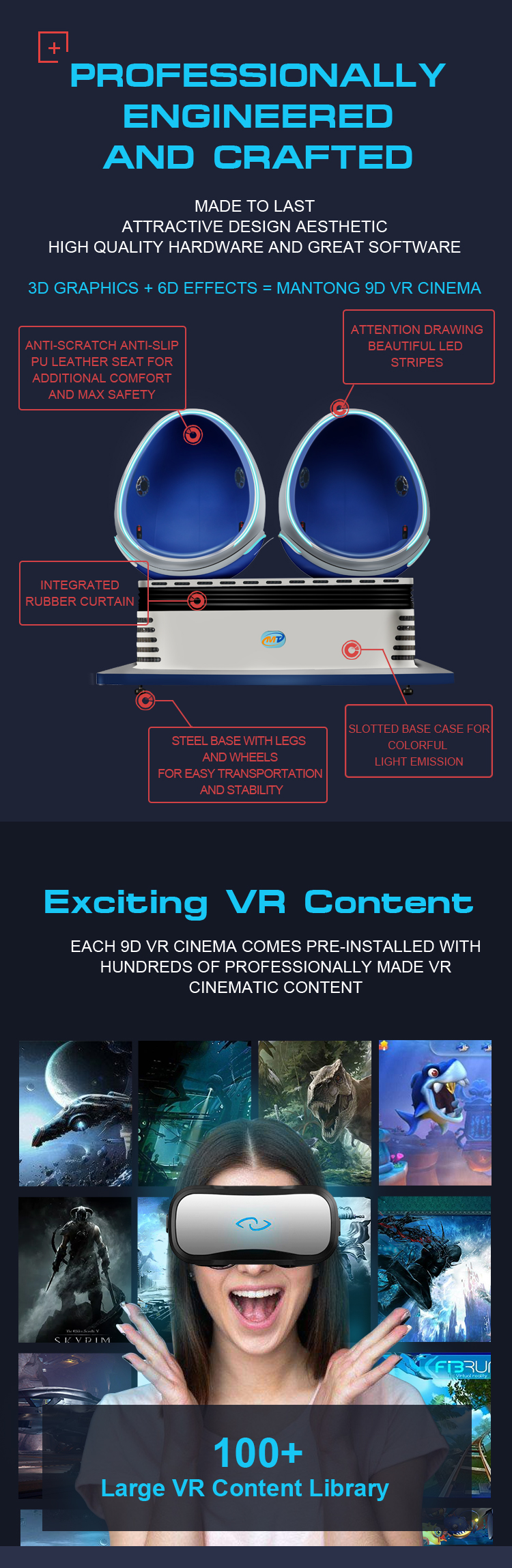 279f65fbddb Dynamic Interactive VR simulator experience   Virtual Reality egg Cinema  equipment 9D VR from Guangzhou China