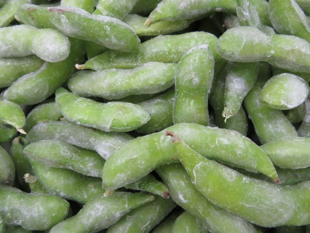 Chinese Iqf Frozen Green Soya Beans