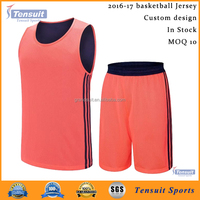 sublimation youth basketball uniform good quality wholesale from China manufacturer basketball uniforms