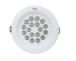 New Product High Lumen Anti-glare 24W 30W 36W 40W Dimable Recessed LED Spotlight