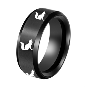 wholesale alibaba fashion plated jewelry Fox ring