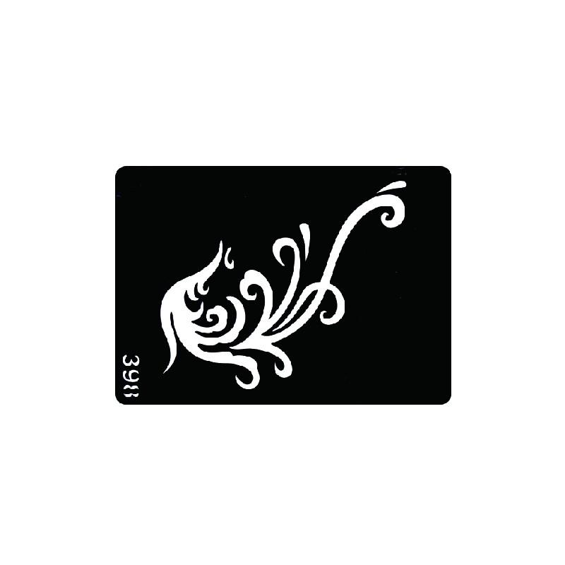 Wholesale- Disposable tattoo stencil, detachable, artistic creation,  fashionable, skin available, tattoos,Myth, Phoenix,398