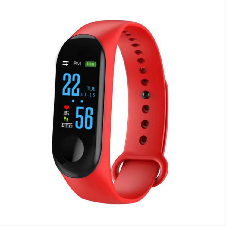 New Arrival m3 ip67 waterproof healthy smart fitness health band bracelet with heart rate monitor blood pressure фото
