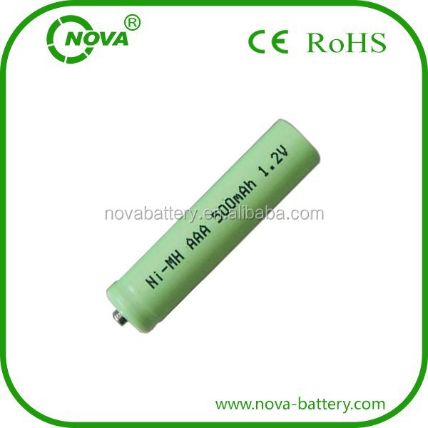 high quality aaa 500mah 1.2v ni mh rechargeable battery
