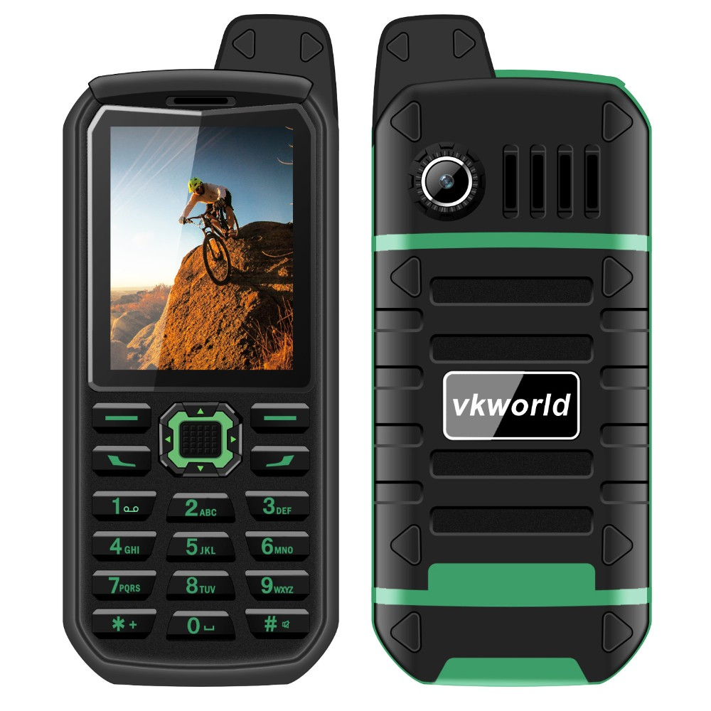 New Products 2017 innovative Product vkworld Stone V3 Plus 2.4inch MTK6261 4000mAh Battery Dual SIM Card GSM Rugged Mobile Phone