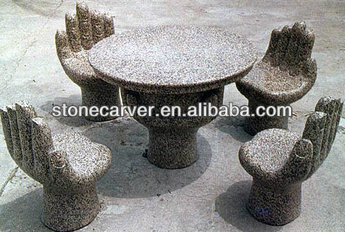 Gentil Hand Shaped Stone Tables And Benches   Buy Stone Table And Bench,Stone Table,Garden  Stone Table Product On Alibaba.com