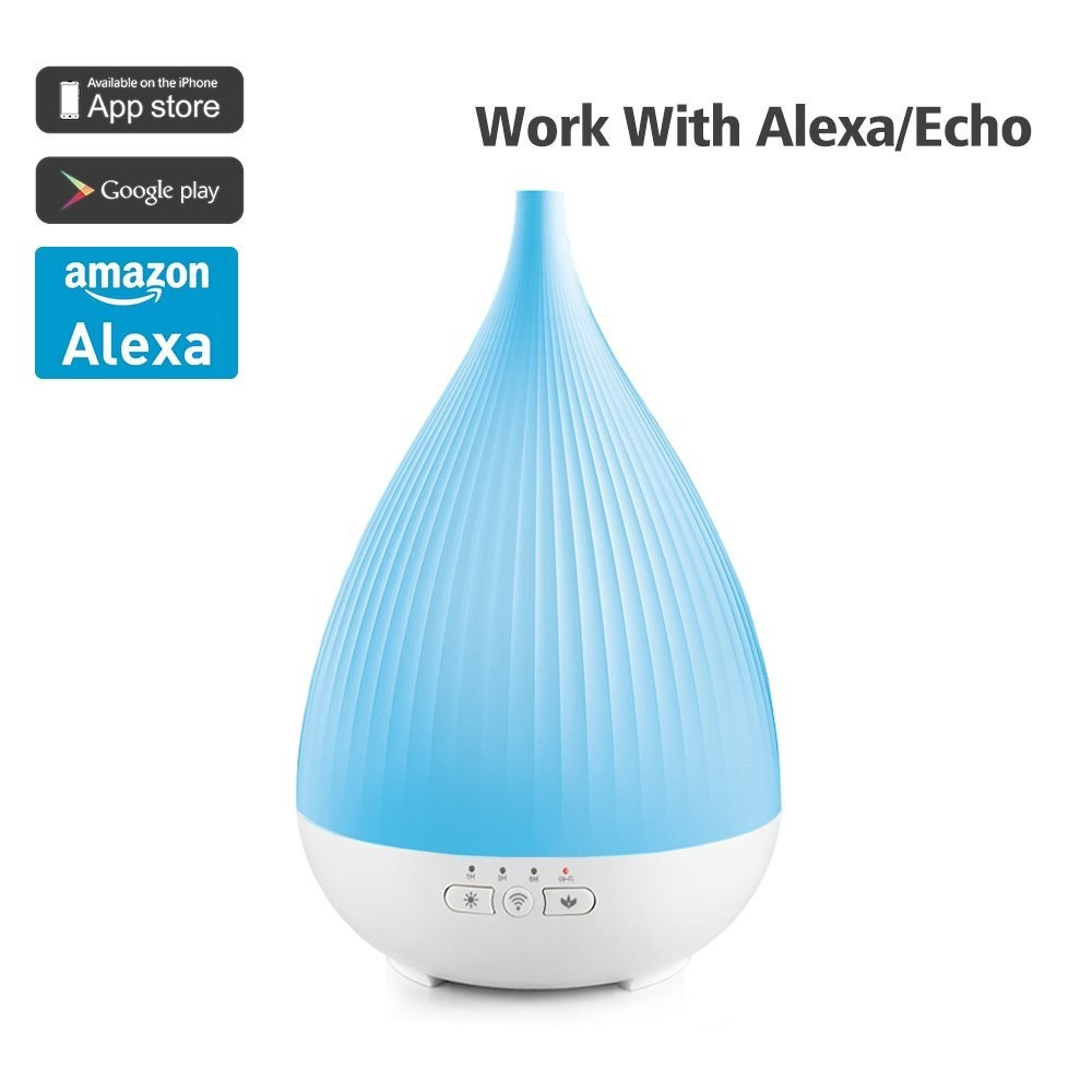Spa mist aromatherapy oil diffuser ultrasonic diffuser digital humidifier