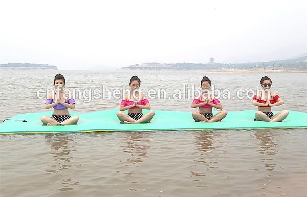 1*2m Xpe Floating Beach Foam Mat Factory Direct Sale Sunbathing Foam ...